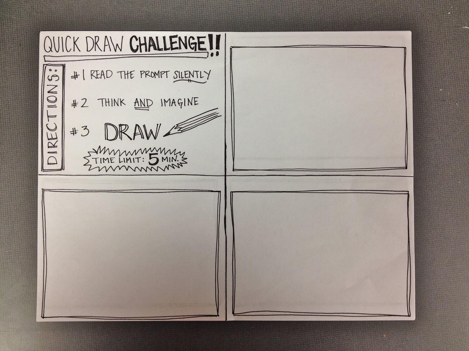 The Smartteacher Resource Quick Draw Challenge