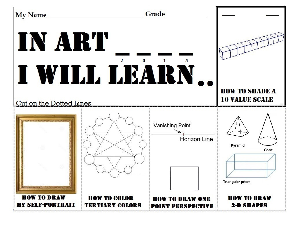 Worksheets Elements And Principles Of Art Worksheet worksheet art worksheets for elementary wosenly free scalien scalien