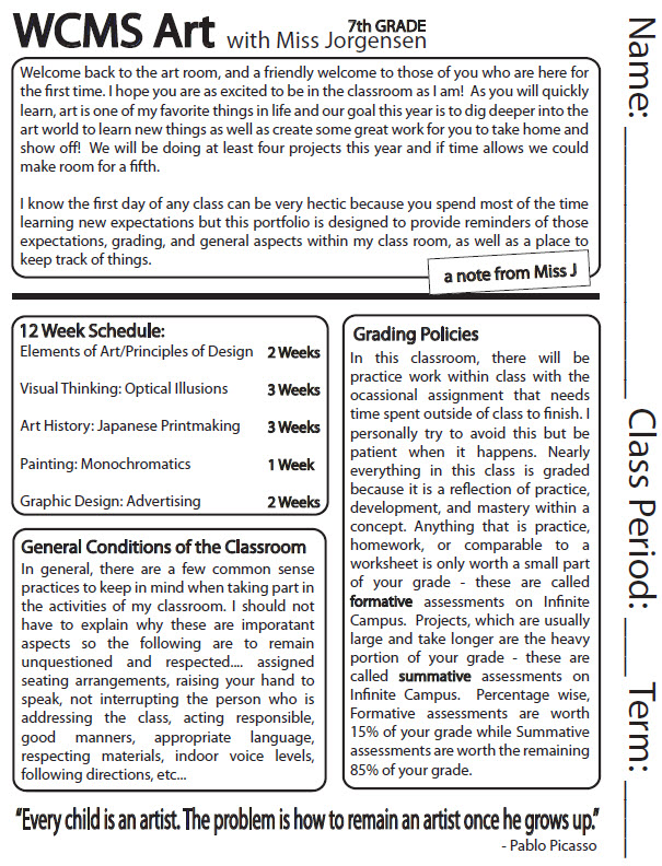 art syllabus Visual arts syllabus rationale the visual arts area of study encompasses all three domains of learning, namely, cognitive, affective and.