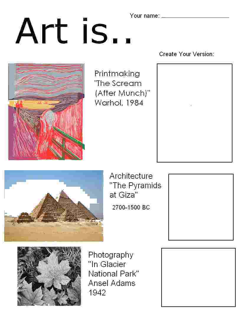 Worksheet Art Worksheets For Elementary worksheets for elementary scalien art scalien