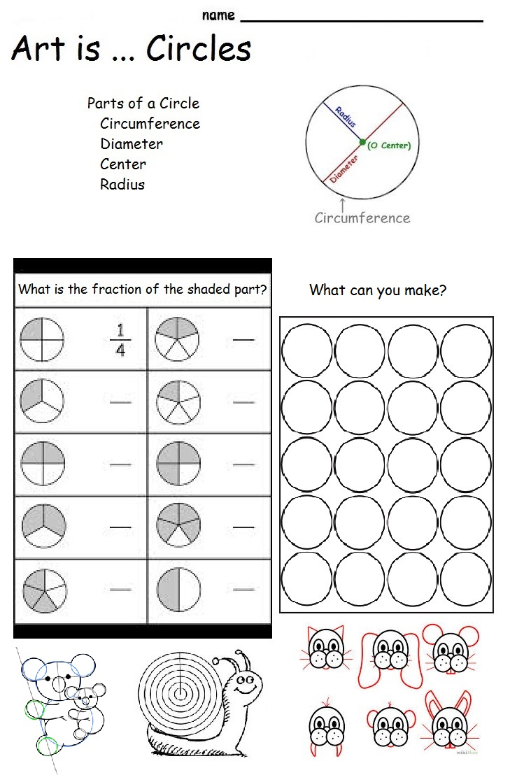 Worksheet Art Worksheets For Elementary art worksheets for elementary students worksheet arts cool the smartteacher resource is circles parts of a circle