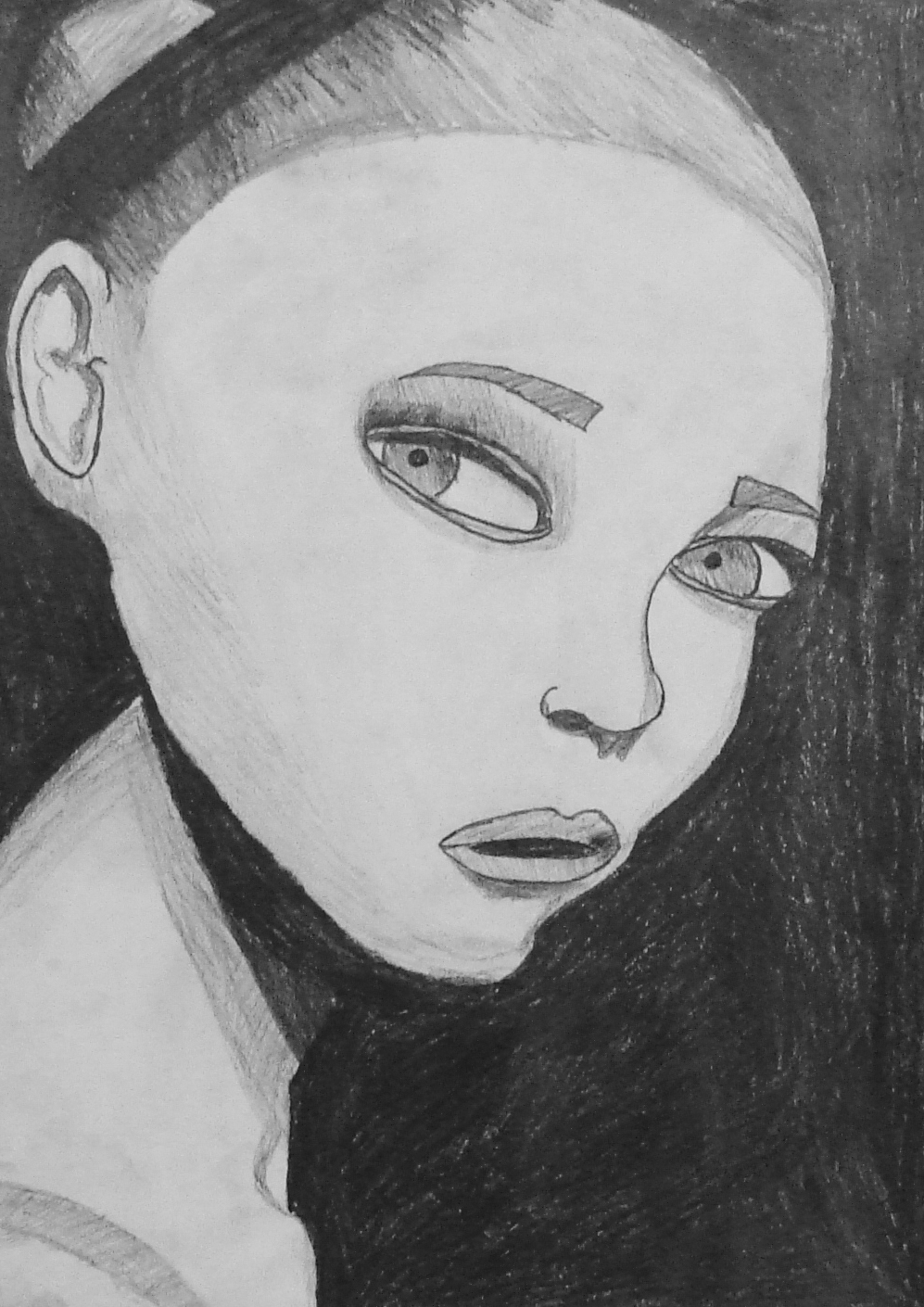 D Line Drawings Value : The smartteacher resource value portrait grid drawings