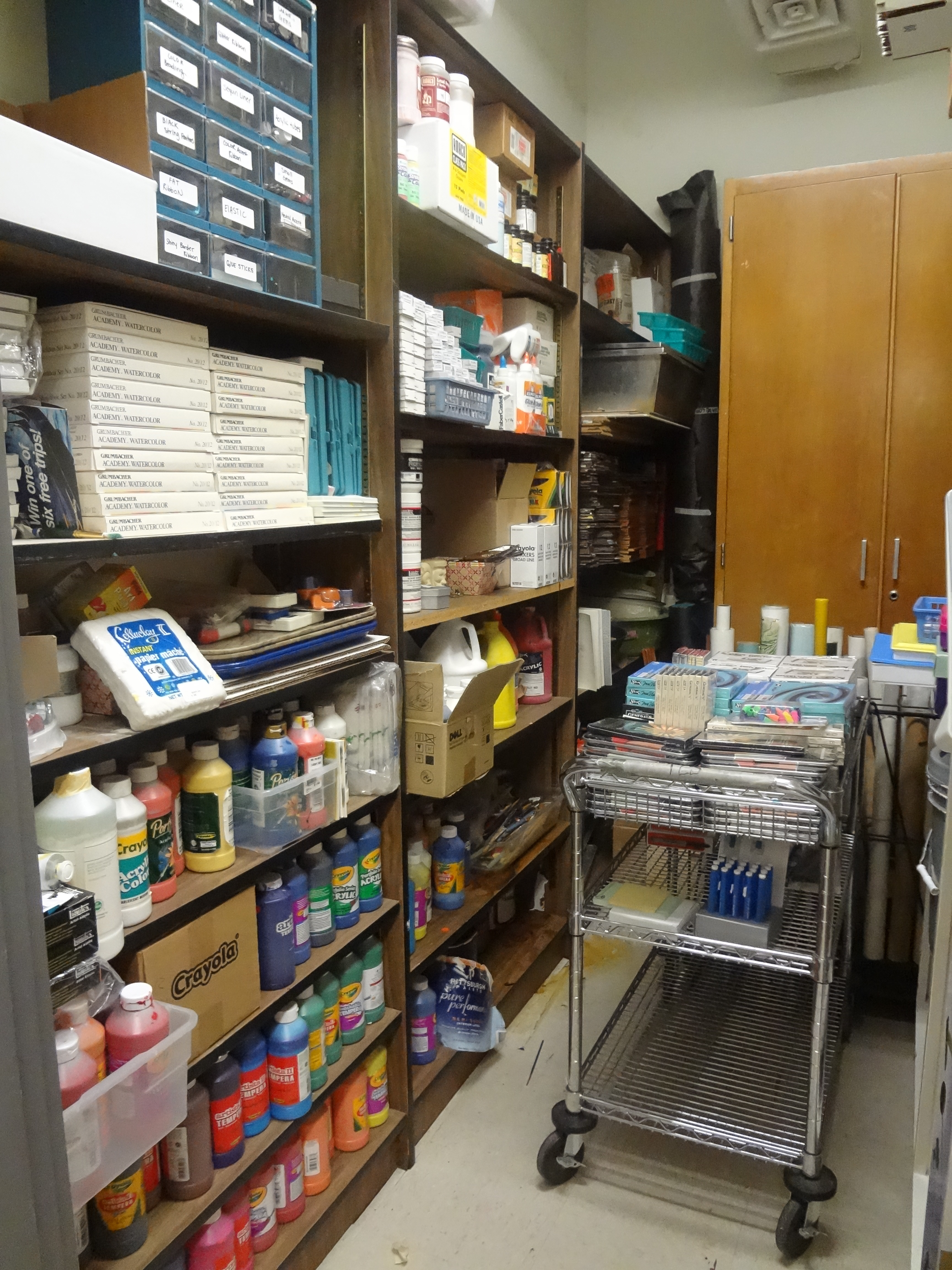 The smartteacher resource art supply storage for How to store craft supplies