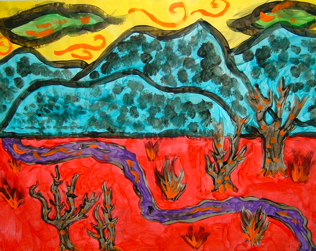 fauvist_The smARTteacher Resource: Fauvist Style Landscape