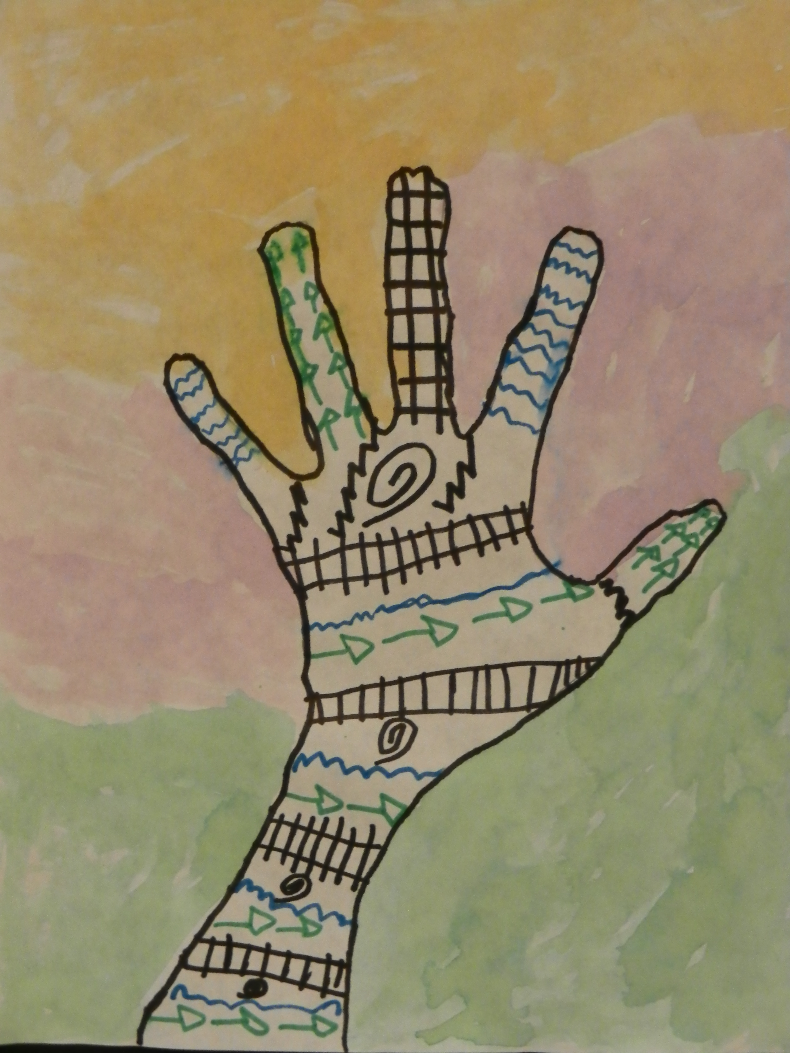 The Smartteacher Resource Henna Hand Linked To The Book Purple