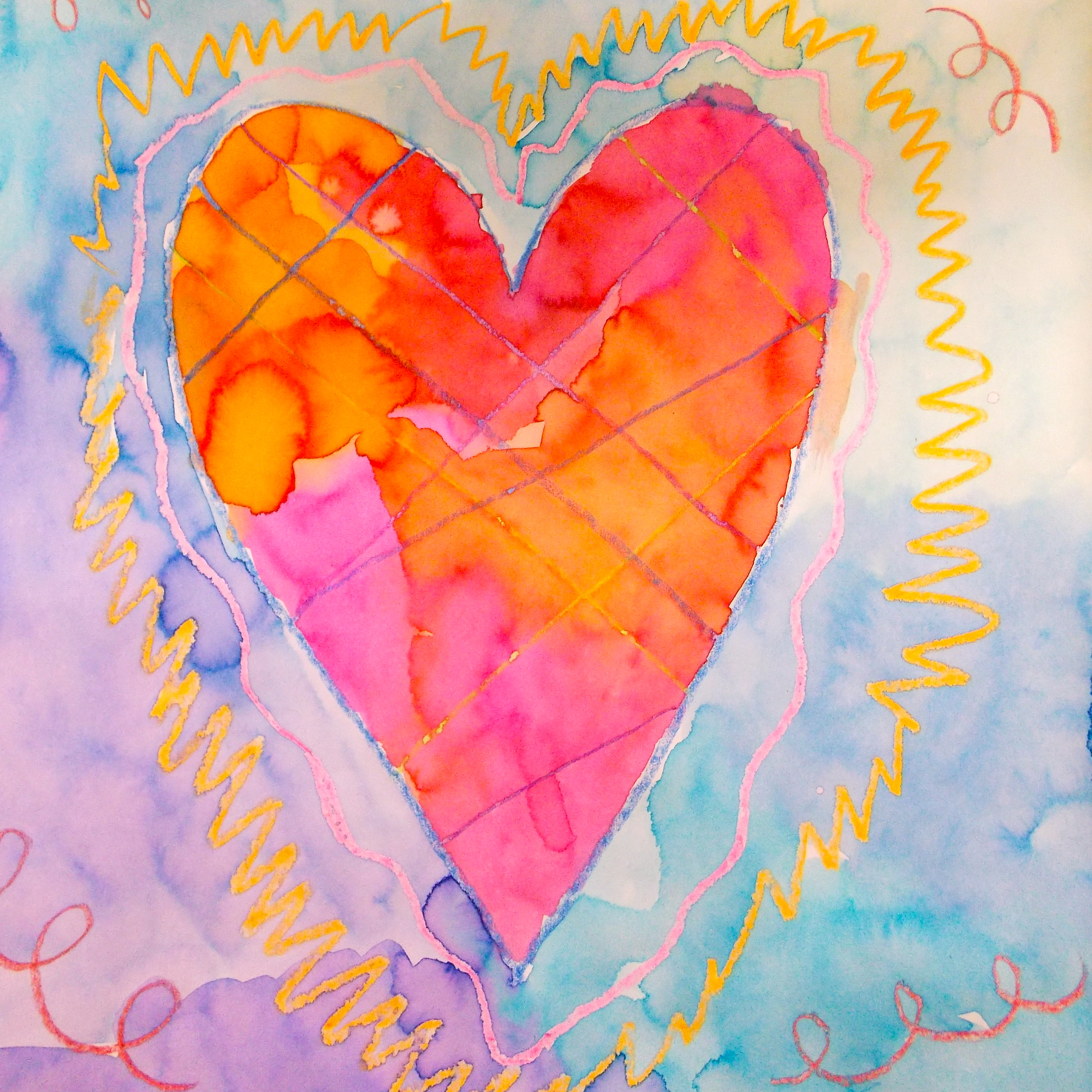 the smartteacher resource  watercolor hearts
