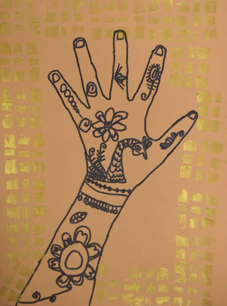 the smartteacher resource  mehndi hands