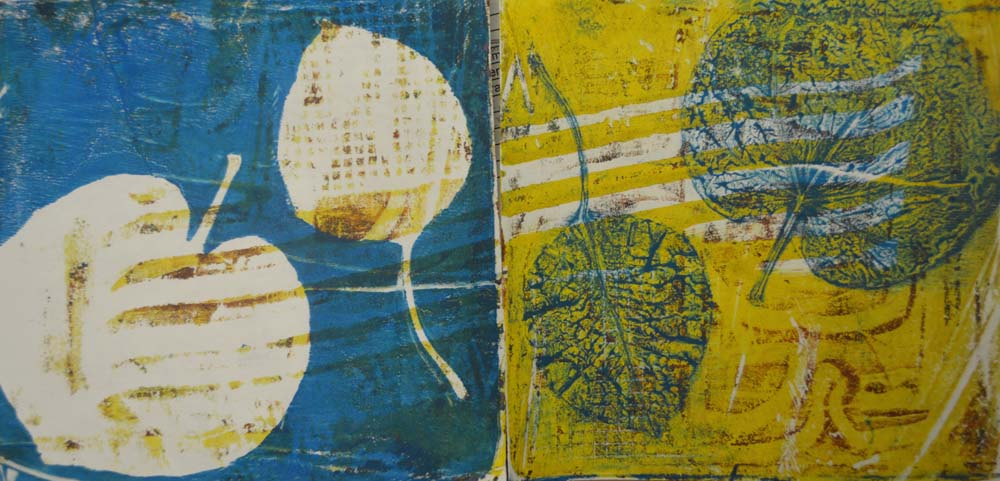 The smARTteacher Resource: Positive & Negative Leaf Prints