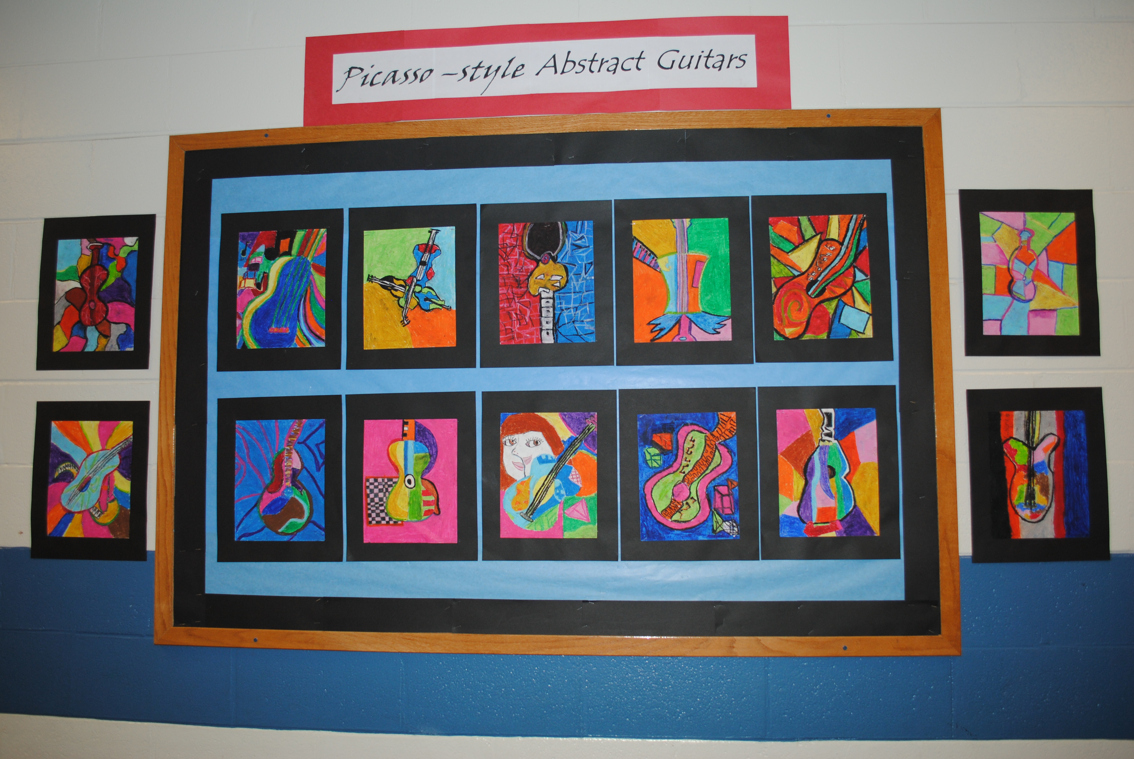 The smARTteacher Resource: Picasso Guitars
