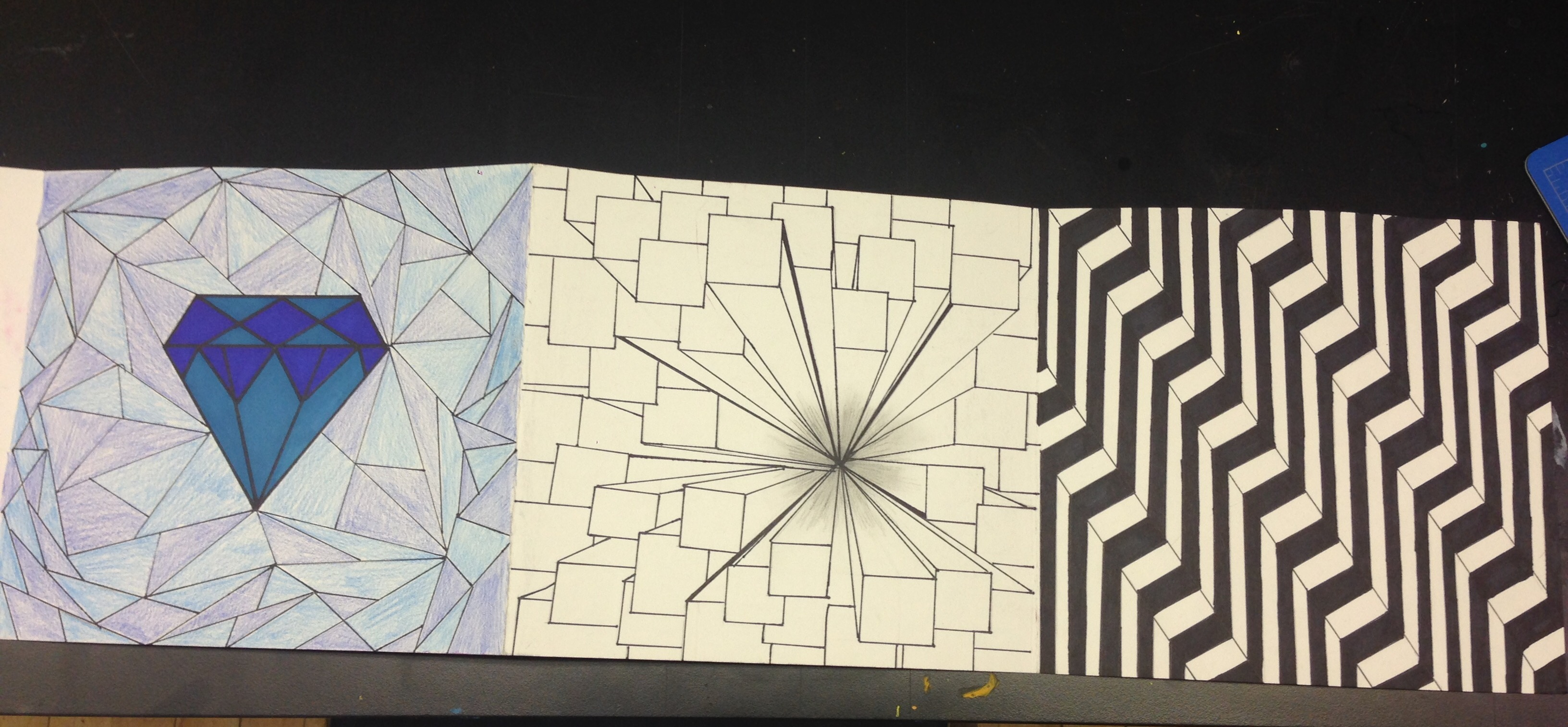 The smARTteacher Resource: Elements of Art Folded Paper Book