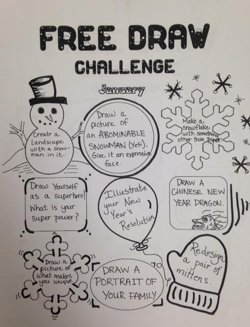 The Smartteacher Resource January Free Draw Challenge