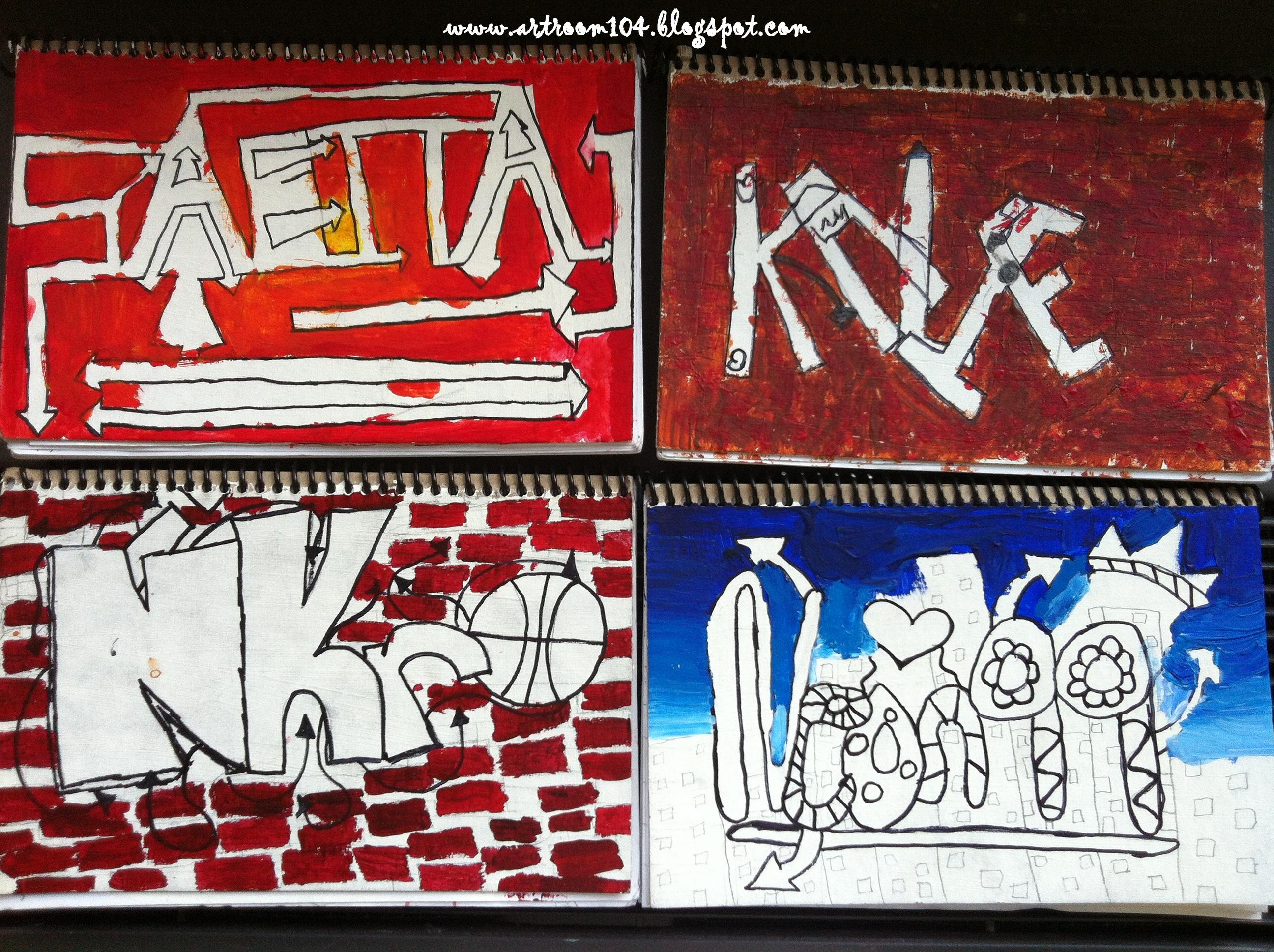 the smartteacher resource art 7 graffiti tags