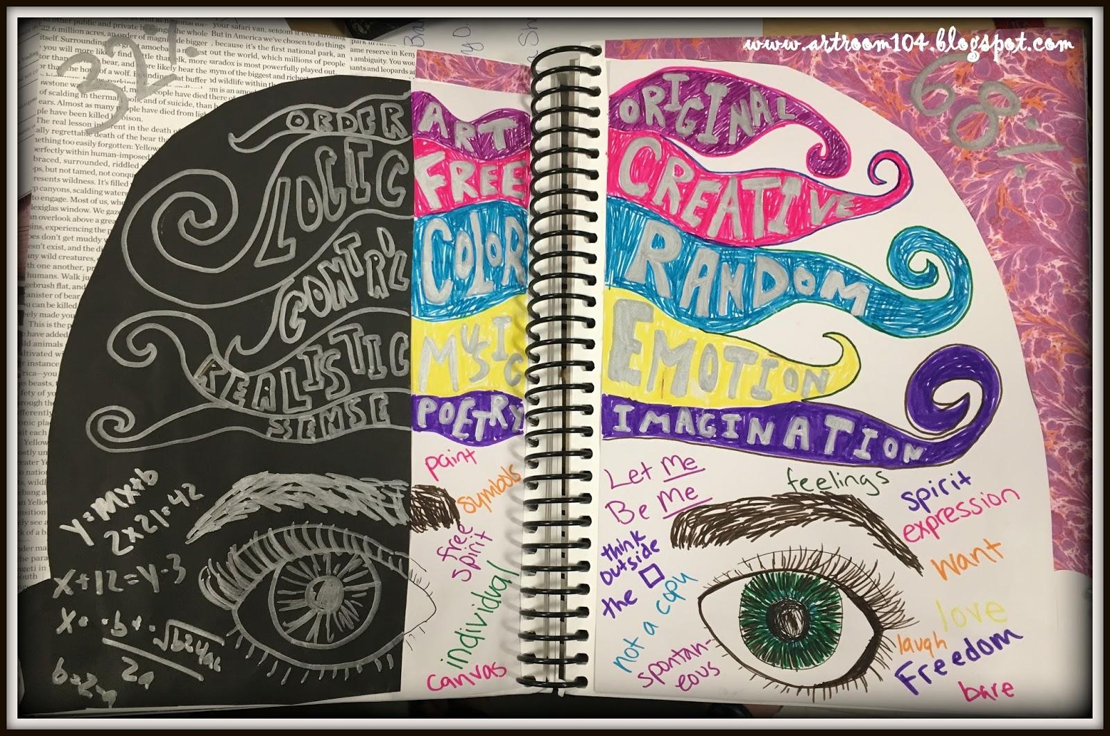 The smARTteacher Resource: Visual Journal Assignments