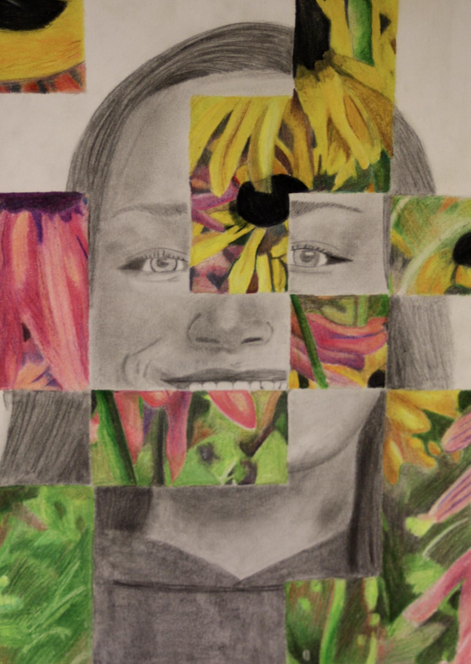 the smartteacher resource  portrait weave drawing