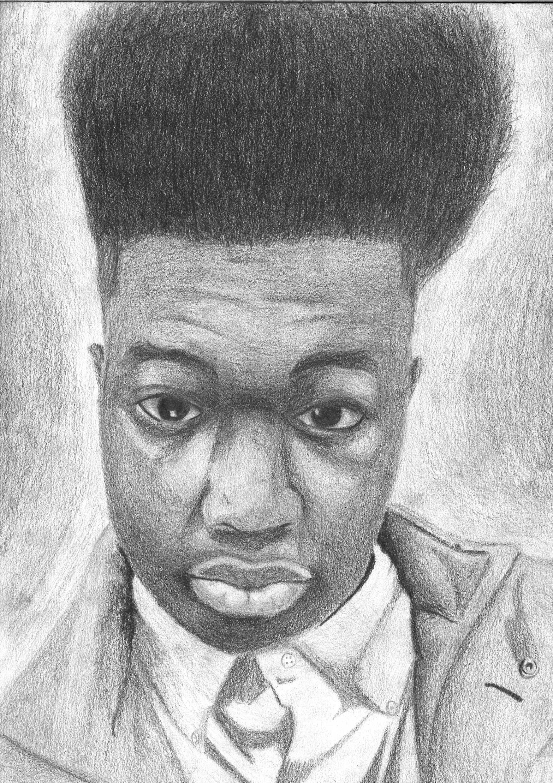 The smARTteacher Resource: Graphite Self-Portraits