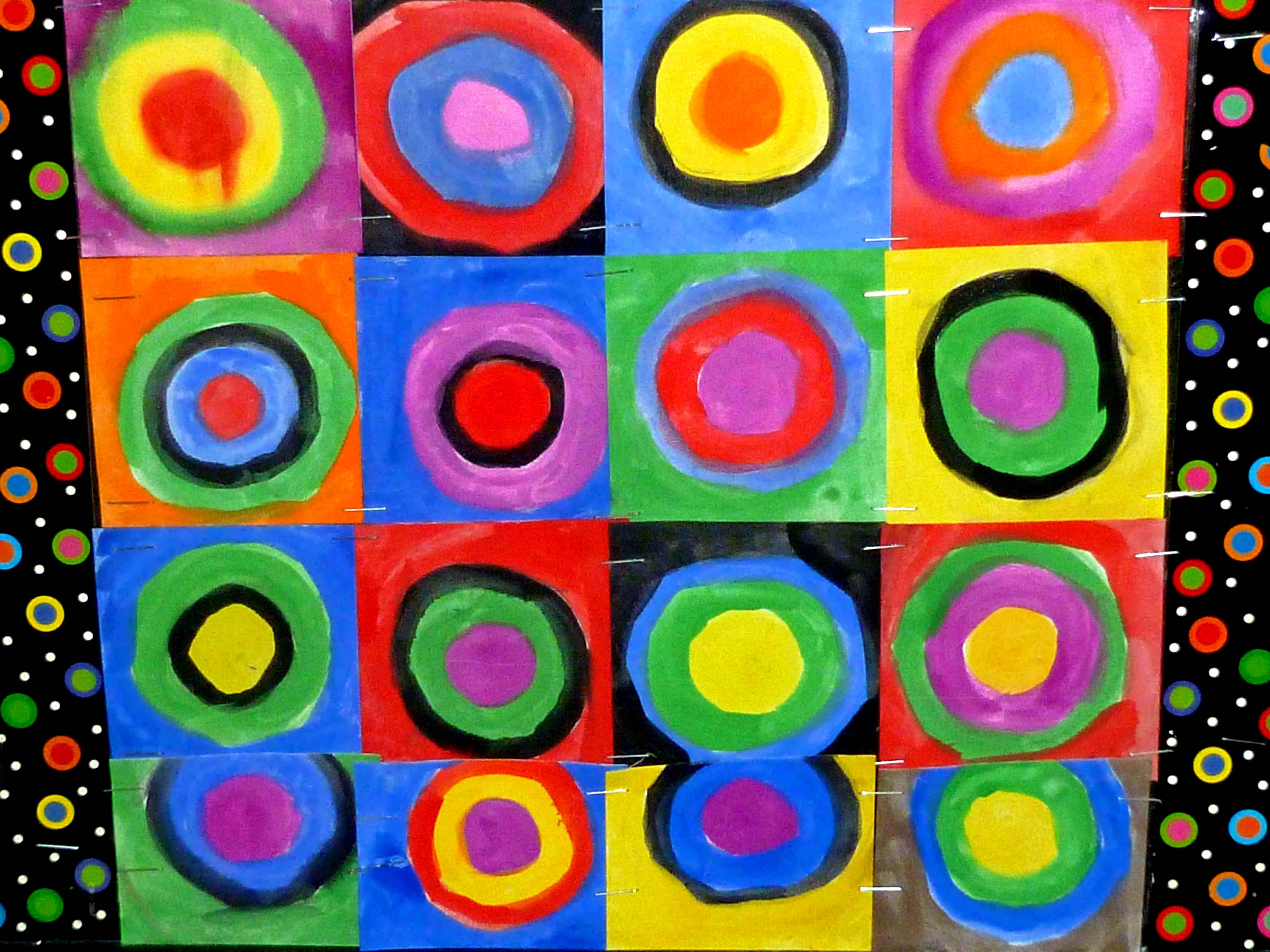 The Smartteacher Resource Concentric Circles With Kandinsky