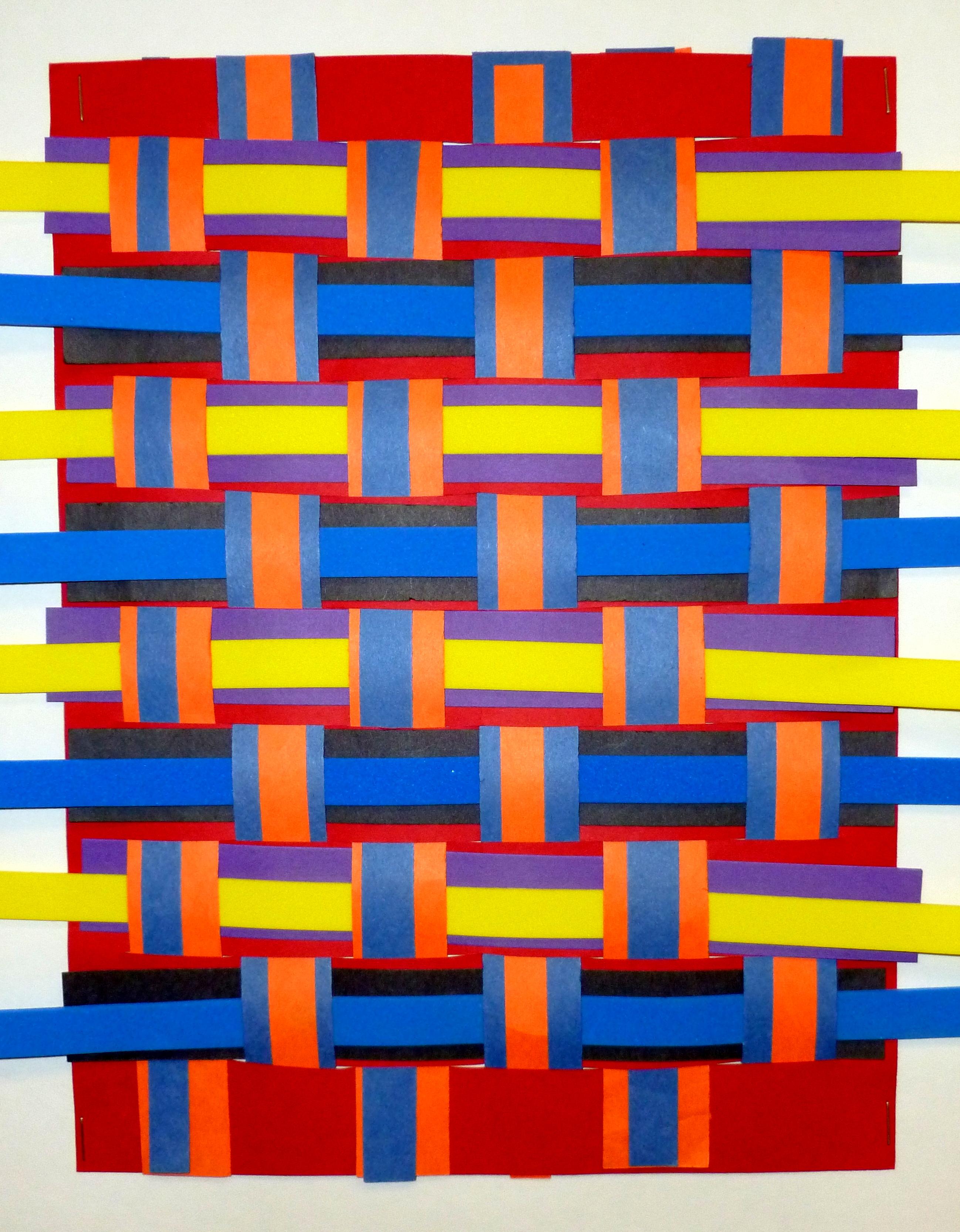 the smartteacher resource kente paper weaving