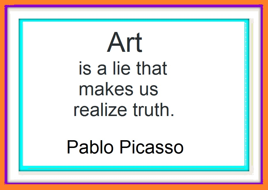 Picasso%203 Awesome Beauty In Art Quotes @bookmarkpages.info