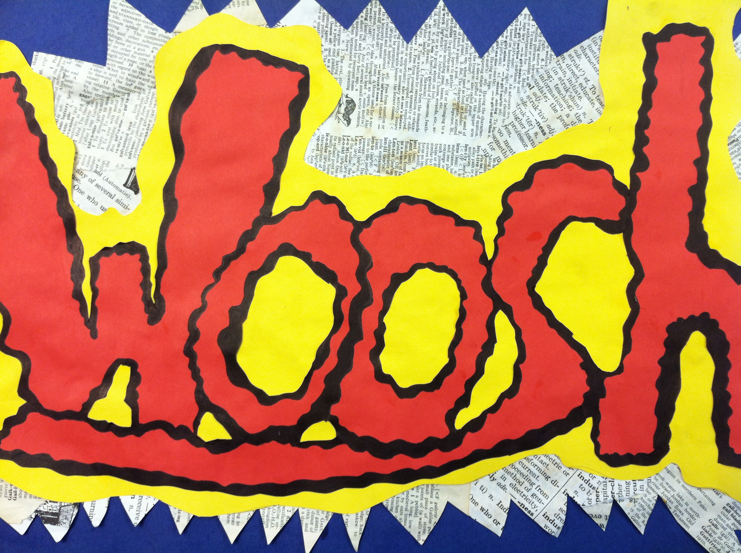 The smARTteacher Resource: Onomatopoeia Pop Art