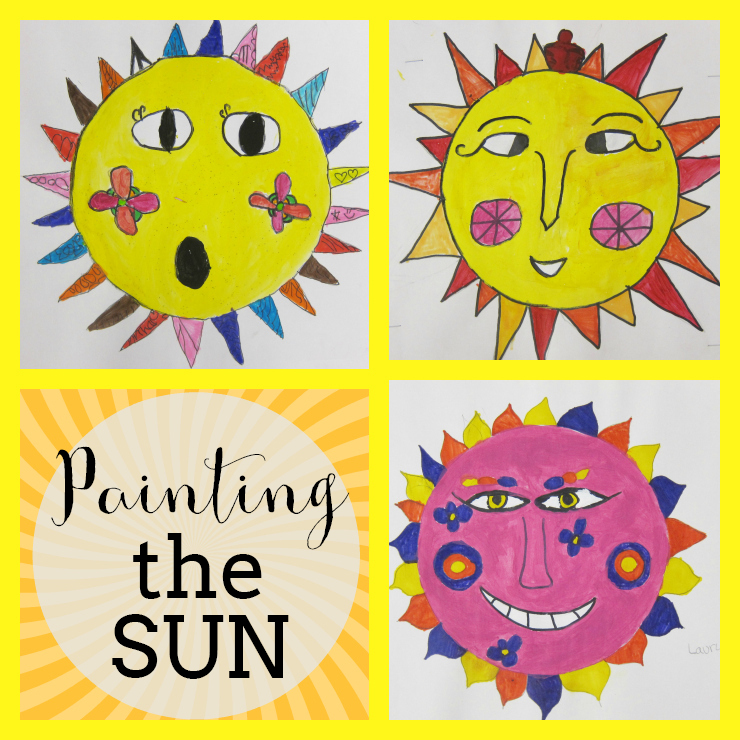 The Smartteacher Resource Painting The Sun Symbolism Of Suns In