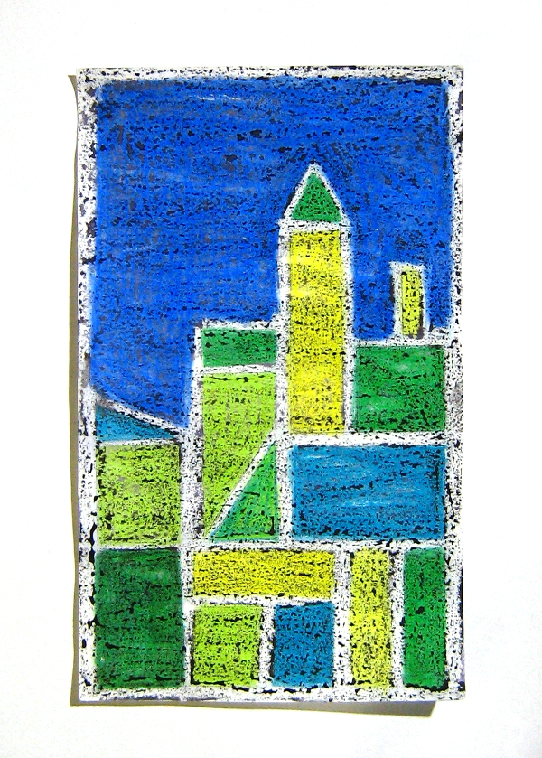 The SmARTteacher Resource: Cityscapes-- Paul Klee Inspired
