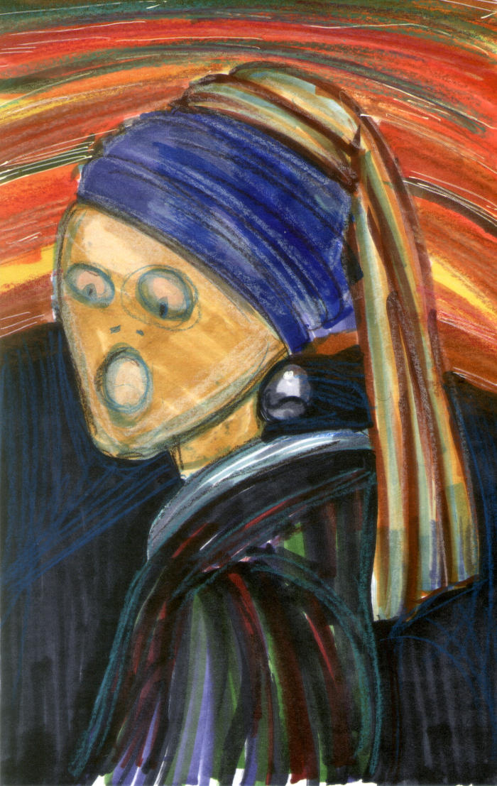 Famous Paintings Recreated: The SmARTteacher Resource: Famous Painting Mash-up