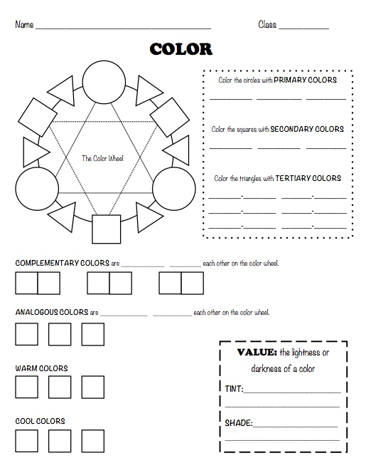 the smartteacher resource  color worksheet