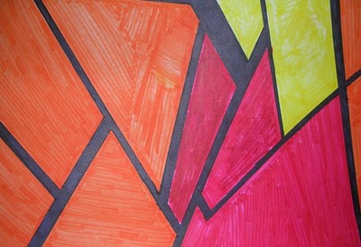 Students Learn About The Complementary Colors Analogous And Color Triads Must Use Different Line Types To Create Space Choose Their