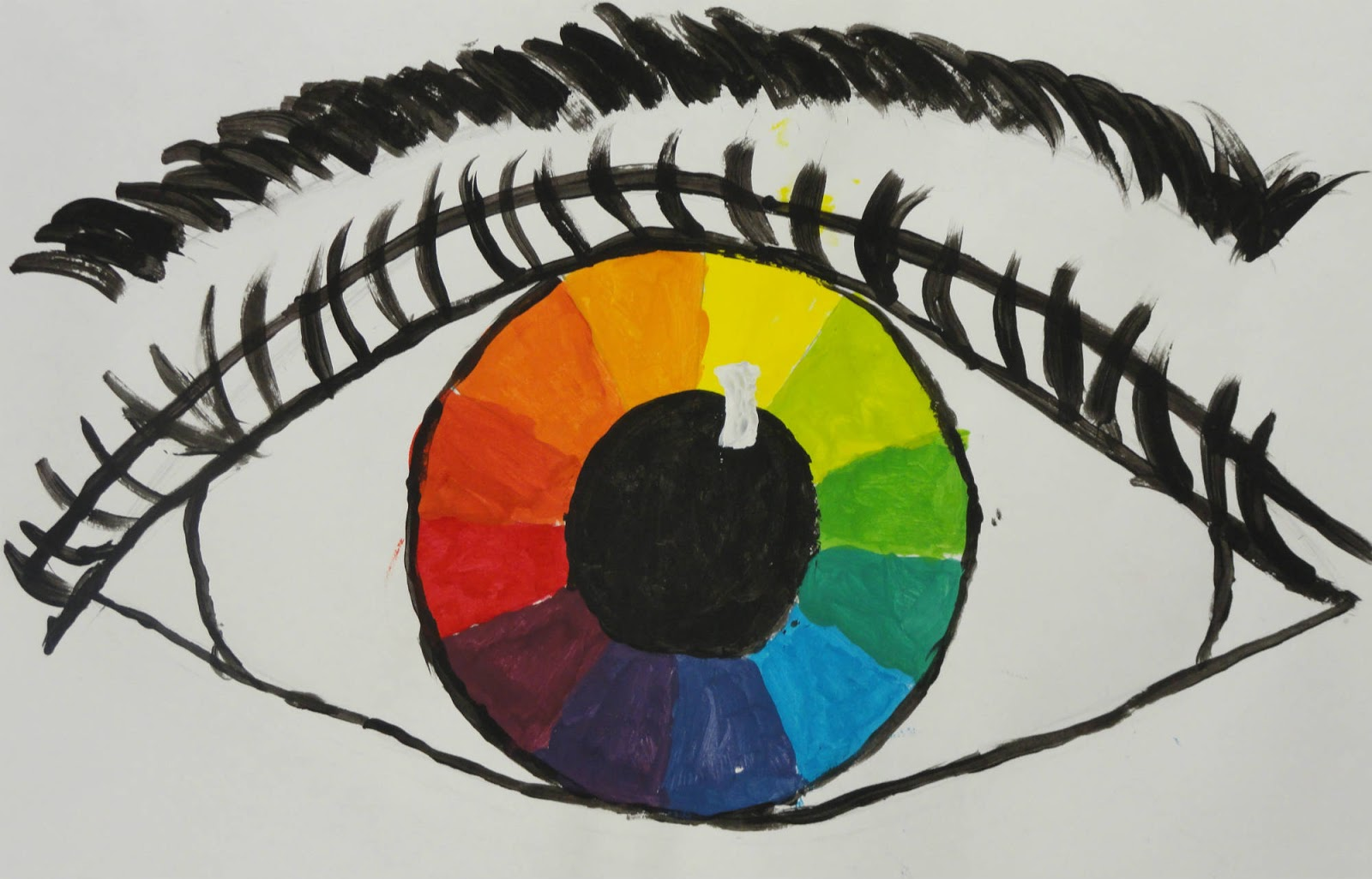 Color Wheel Drawing Ideas Creative Art