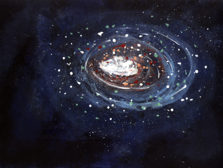 The Smartteacher Resource Galaxy Abstract Paintings