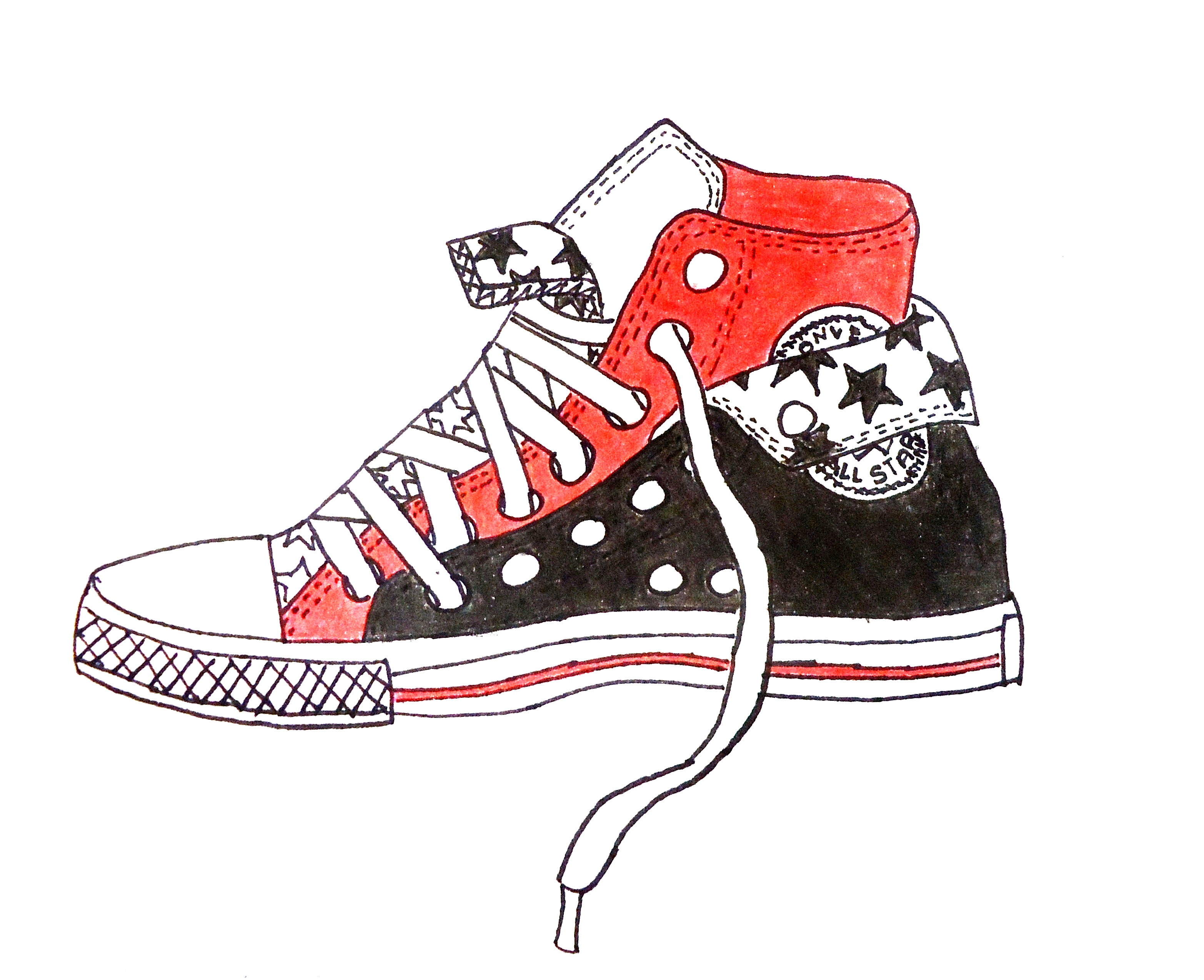 Contour Line Drawing Of Shoes : The smartteacher resource contour line dream shoes