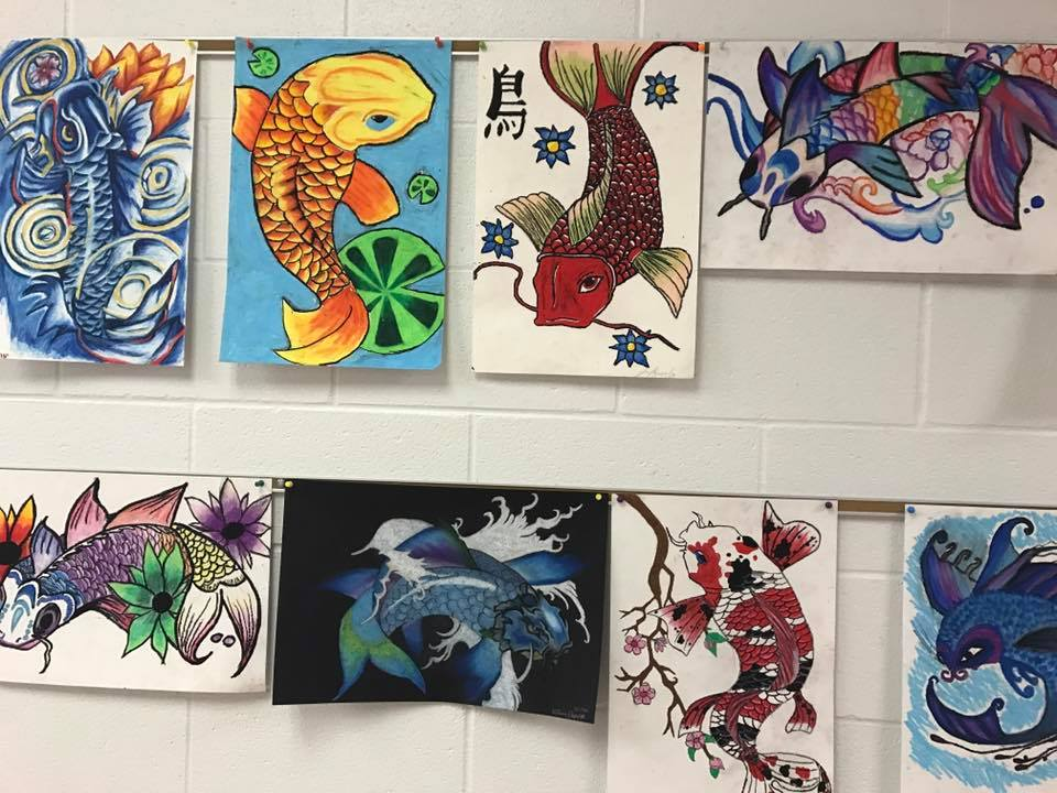 Japanese Art Projects For Middle School