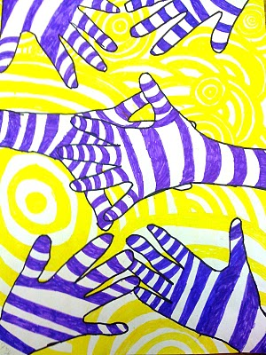 the smartteacher resource optical illusion hands