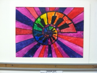 This Is The Introductory Lesson To My Painting Class After Learning About Color Wheel Put Their Knowledge Into Motion And Used