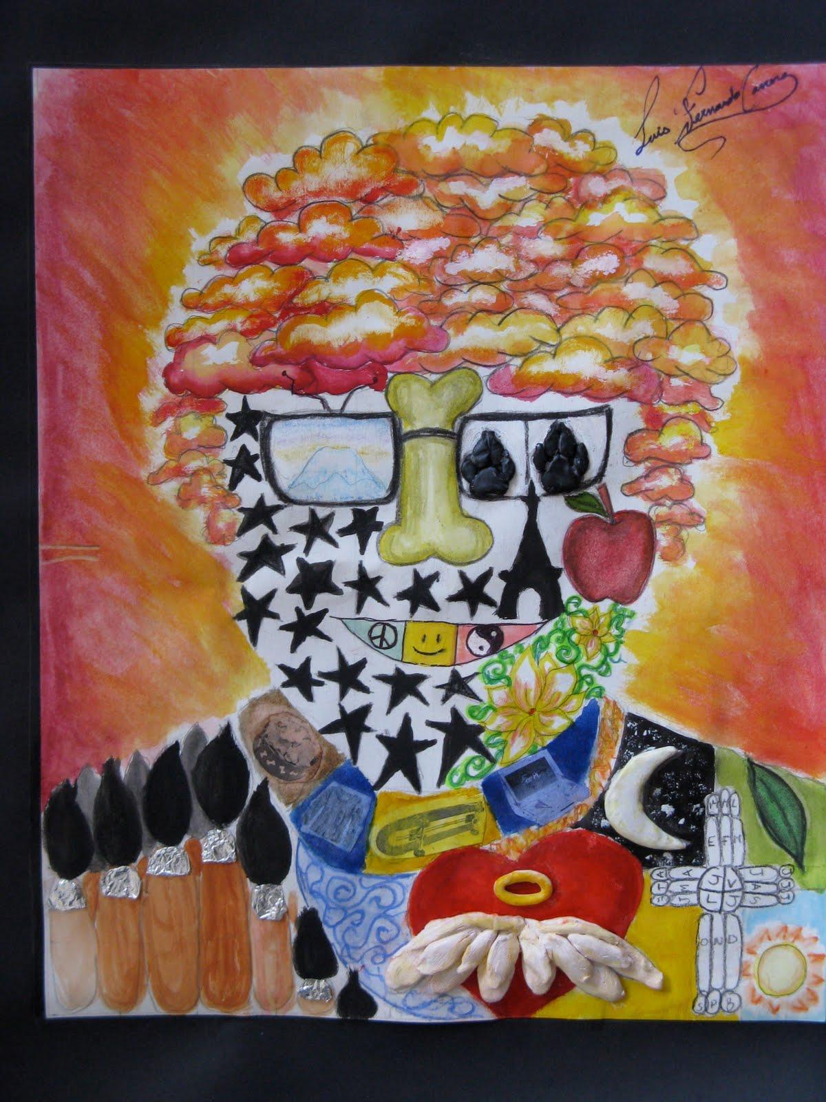 The Smartteacher Resource Arcimboldo Self Portraits