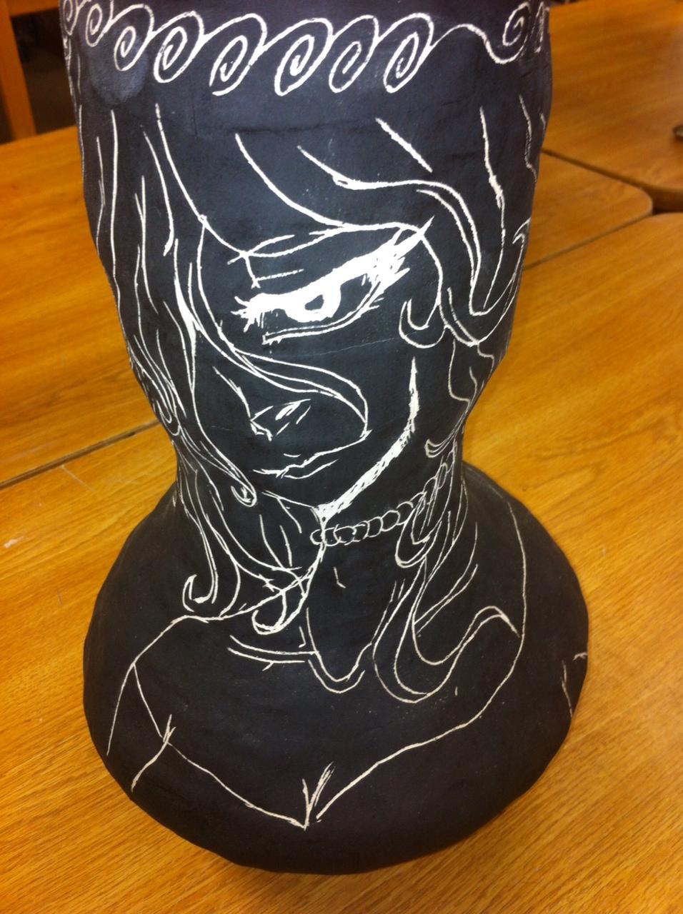the smartteacher resource  sgraffito clay pots